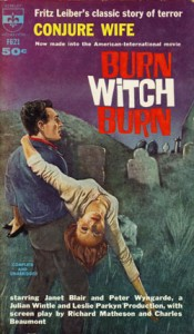 Conjure Wife 1962 Berkeley PB